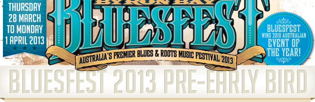 Bluesfest 2013 Lineup Announced & Tickets Info